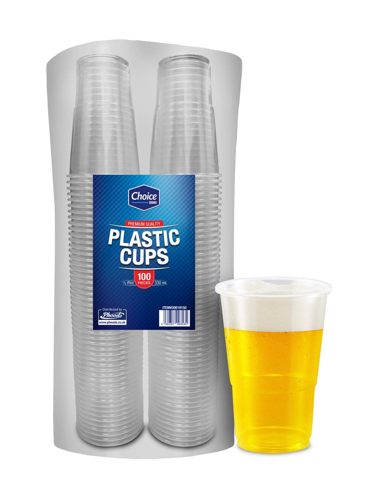 CPD CPD00808 VMAXCWCT 7 oz Maxima Water Cup Clear Pack of 100