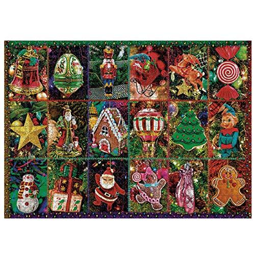 Larcele Natale Puzzle per Adulti Puzzle per Bambini dai 6 Anni in su 1000 Pezzi