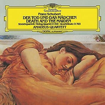 "Schubert: String Quartet No.14 In D Minor, D. 810 ""Death and the Maiden""; String Quartet No.12 In C Minor, D.703 - ""Quartettsatz"""