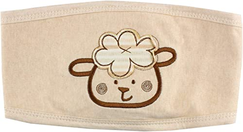 high quality Larcele 59cm Baby Belly outlet sale new arrival Circumference Cotton Umbilical Cord Care Air-Conditioned Rooms Antifreeze Apron Adjustable BBDW-03 outlet online sale