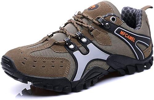 Henxizucun Chaussures de Marche pour Hommes Trekking Trekking de randonnée légère Chaussure de Sport en Plein air Faible Top Chaussures de sécurité au Travail Chaussures à Enfiler pour la Course à Pied Escalade  magnifique