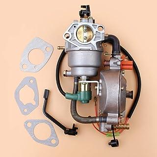 Fjiujin Manual Choke Dual Combustible CARURBURERO Ajuste para Honda GX390 GX 390 Chino Hecho 188F 13HP 4KW-5KW Generador de Gasolina Generador