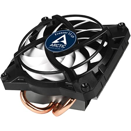 ARCTIC Freezer 11 LP - 100 Watts Intel CPU Cooler for Slim PC Cases, Ultra Quiet 100 mm PWM Fan, pre-Applied MX-4 Thermal Compound (UCACO-P2000000-BL)