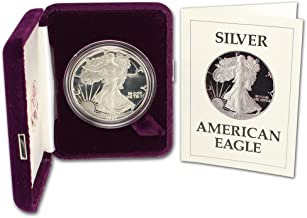 1987 S American Silver Eagle Proof OGP $1 PF68 US Mint