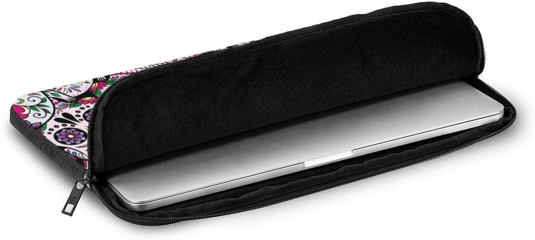 Neoprene Laptop Sleeve Case Bag Compatible with 10 Inch 12 Inch 13 Inch 15 Inch 17 Inch Sugar Skull Mexican Tradition Ultrabook Laptop Tablet Bag Case//Skin Cover Notebook Computer