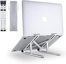 AUKEY ノートパソコンスタンド PCスタンド 折りたたみ式 6段階角度調整可能 持ち運びに便利 アルミ合金製 Macbook/Macbook Proシリーズ/Surface/Surface Proシリーズ/iPad Pro/Sony/HP / ASUSなどの17インチまでのノートPCやタブレットに対応 HD-LT07