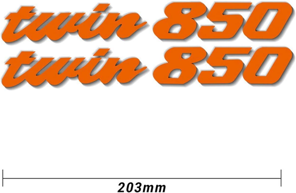 MTnoble Motorrad Tail Box Aufkleber Schnabel Aufkleber Sto/ßd/ämpfer Abziehbilder Abziehbilder Reflektierende wasserdichte Passform f/ür Yamaha Twin850 Twin 850 Color : Lavender