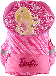 Barbie Never Enough Sparkle Backpack Mochila Escolar, 42 cm, Rosa (Pink)