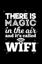 There Is Magic In The Air And It's Called Wifi: Blank Paper Sketch Book - Artist Sketch Pad Journal for Sketching, Doodling, Drawing, Painting or Writing