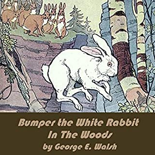 Bumper the White Rabbit in the Woods audiobook cover art