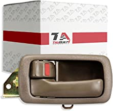 T1A Interior Drivers Side Door Handle Replacement for 1992-1996 Toyota Camry Color OE Style Brown T1A-69206-32071-E0