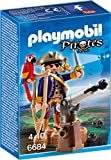 Playmobil - 6684 - Capitaine Pirate avec Canon