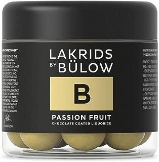Lakrids by Bülow B- Passion Fruit 125g- Danish Confectionery Licorice