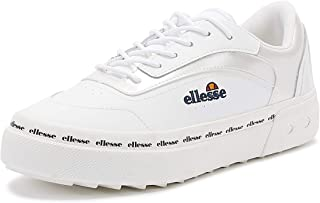 Ellesse Alzina Womens White Leather Trainers