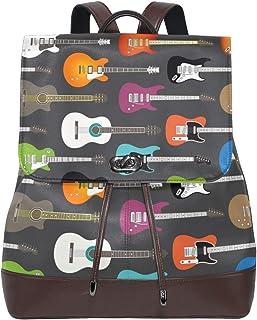 FANTAZIO Mochila Guitarra Eléctrica Patrón de Fondo Bolsa de Viaje