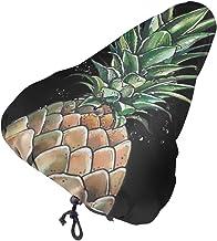 MSACRH Waterproof Bike Seat Cover Pineapple Skull Men Women Protective Water Resistant Bicycle Saddle Rain Dust Cover for ...