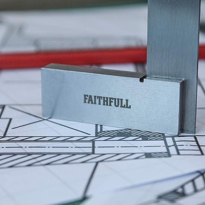 Escuadra para carpinter/ía Faithfull FAIES2 tama/ño: 2pulgadas