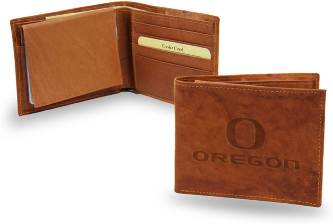 NCAA Embossed Billfold Wallet Team: University Oregon Super beauty product restock quality top! of Du Ranking TOP19