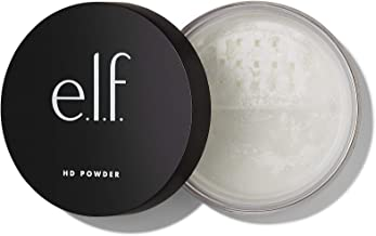 e.l.f. Cosmetics High Definition Powder Loose Powder, Lightweight, Long Lasting Creates Soft Focus Effect, Masks Fine Lines and Imperfections Sheer, Radiant Finish 0.28 Ounce (83331)