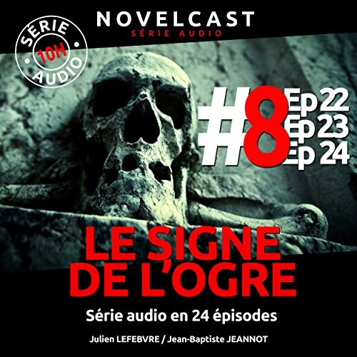 Le signe de l'ogre 8 audiobook cover art