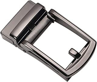 D DOLITY Classic Ratchet Belt Buckle Automatic Slide Buckle DIY Replacement for Leather Belts