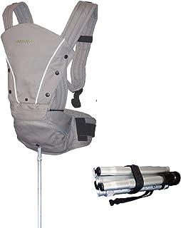 Mamapod Portabebés con poste de apoyo, para todas las estaciones, todas las posiciones, ergonómico, cómodo, alivio de espalda, para bebés, niños, S200