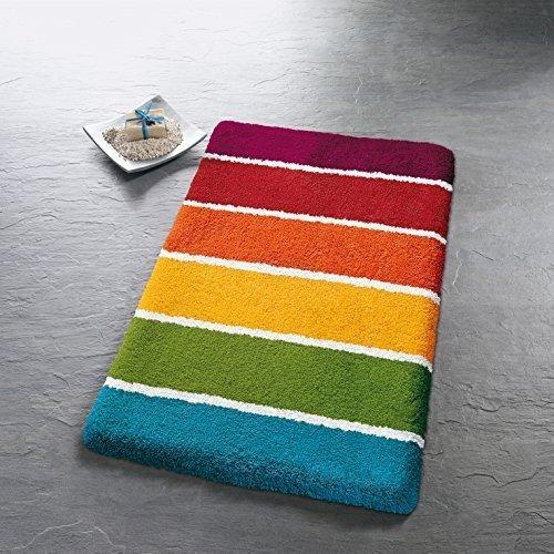 Kleine Wolke 5522148225Select Badteppich Polyacryl, Mehrfarbig, Mehrfarbig, 60 x 90 cm