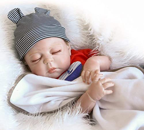 calidad auténtica ZIYIUI DOLL 20 Pulgadas 50 cm cm cm Hechos a Mano muñeca recién Nacida Hecha a Mano muñeca recién Nacida muñeca de Silicona Suave Vinilo, Hermoso Regalo de los Niños  ventas en linea