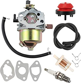 Yermax 951-10974A Snow Blower Carburetor + Fuel Filter Spark Plug for MTD Troy Bilt Cub Cadet Craftsman Yard Machines Snow Blower