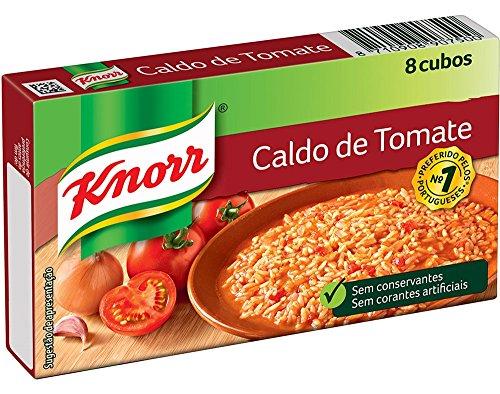 Knorr, Zuppa di Pomodoro, Confezione Dadi 8 x 10 gr, Totale 80 gr