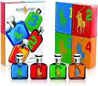Ralph Lauren The Big Pony Miniature Collection 4 Piece Mini Gift Set for Men