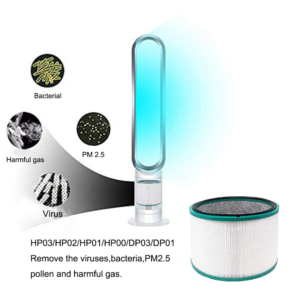 iAmoy Reemplazo de HEPA Filtro Compatible Dyson Pure Cool HP03 ...