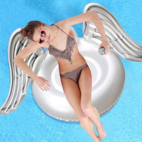 orden en línea Xihongshi Xihongshi Xihongshi Alas de ángel inflables para Montaje en Agua Que nadan en el Anillo  gran selección y entrega rápida