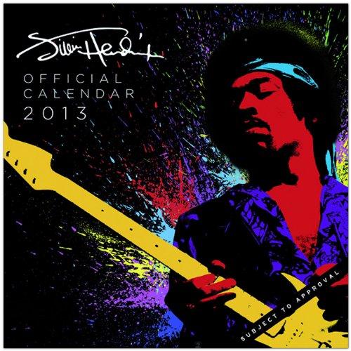 Jimi Hendrix - Original BrownTrout-Kalender