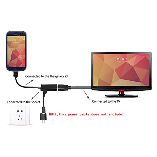 MHL Micro USB to HDMI Cable Adapter Universal