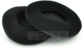 WEWOM 2 Almohadillas de Repuesto para Cascos SteelSeries V1 V2 Beyerdynamic DT770 DT880 DT990 AKG K240 K240S K270, Terciopelo