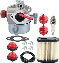 Coolwind 640350 Carburetor w 36905 Air Filter for Toro 20016 20017 20018 6.75HP Recycler Lawn Mower Tecumseh 640303 640271 LEV100 LEV105 LEV120 LV195EA LV195XA Engine