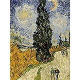 Van Gogh malen nach Zahlen Kits auf Leinwand Figur DIY rahmenloses Ölgemälde nach Zahlen...