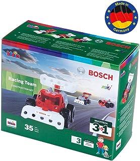 Theo Klein- Bosch 3 in 1 Set di Costruzione, Racing Team, Giocattolo, Multicolore, 8793