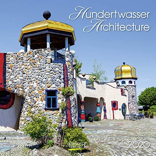Hundertwasser Architektur 2020: Broschürenkalender mit Ferienterminen