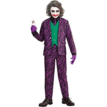 NET TOYS Disfraz Infantil Joker Malo - 123 - 128 cm, 5 - 7 años ...