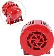 Aodesy DC 24V Industrial Bell Siren Horn Sound Buzzer Alarm 110dB MS-190 Alarm Sound Motor High Power Buzzer Siren
