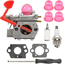 545081855 Carburetor for Walbro WT-875 Craftsman Poulan Pro BVM200C BVM200VS P200C GBV325 P325 Blower with Adjustment Tool Kit