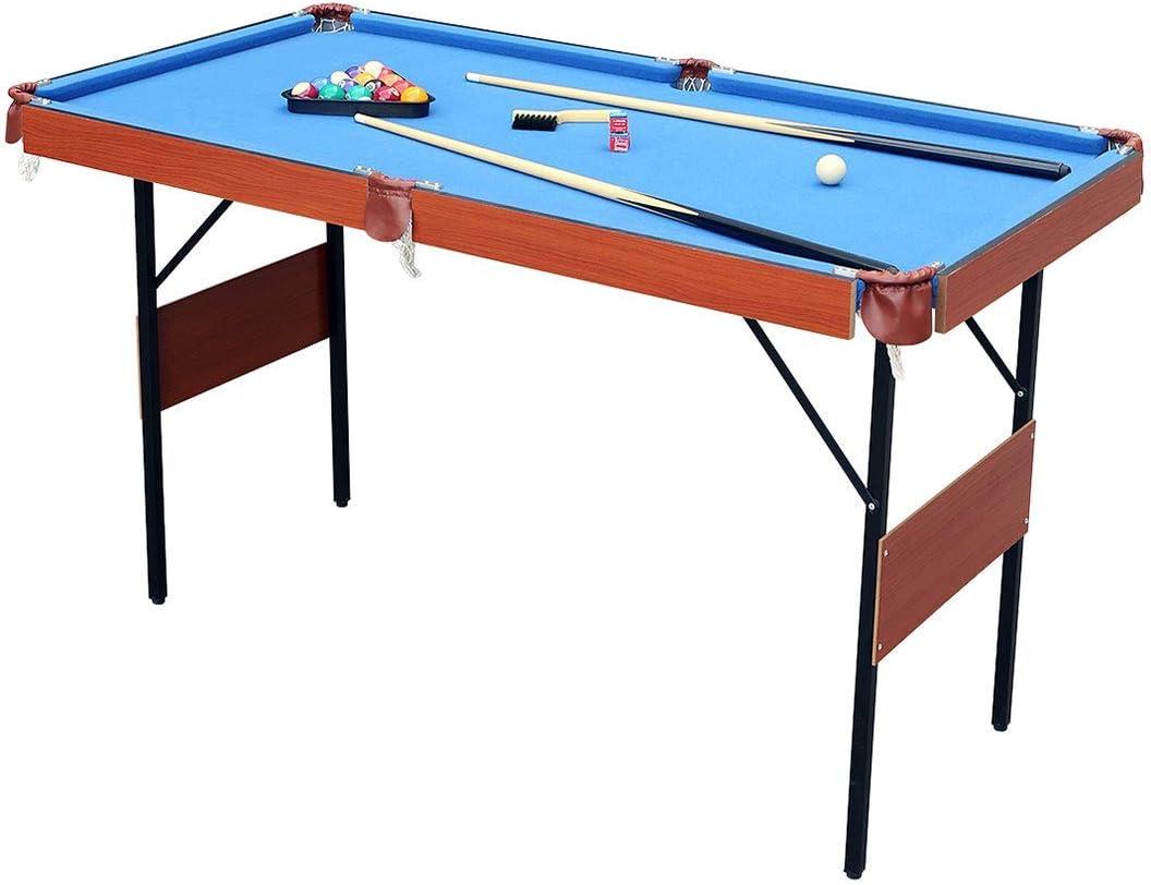 Fran_store 55 Inch Folding Pool Table Tabl Space National products San Francisco Mall Saving Billiard