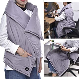 Electric Multifunctional USB Heating Blanket Heating Vest Shawl Heating Mat