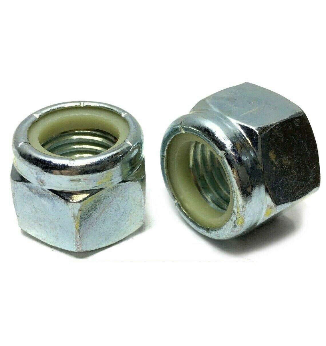 hex Nuts 7 8-9 - Indefinitely Nylon Insert P Lock 100 Nylock Zinc Plated Alternative dealer
