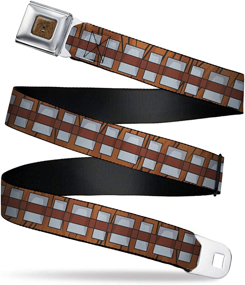 Buckle-Down Standard Seatbelt Belt Star Wars Chewbacca 1.5