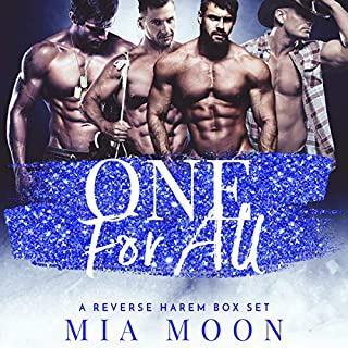 One For All: A Reverse Harem Box Set                   By:                                                                                                                                 Mia Moon                               Narrated by:                                                                                                                                 Lacy Laurel                      Length: 6 hrs and 48 mins     15 ratings     Overall 4.3