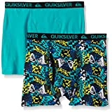 Quiksilver Little Boys' Boxer Brief, Tech Print, Small/6/7 (Pack of 2)