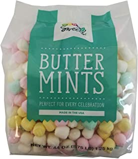 Party Sweets Assorted Pastel Buttermints, 2.75 Pound, Appx. 350 pieces from Hospitality Mints